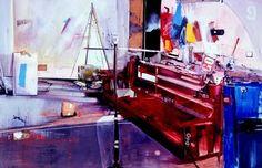 """Marcus Antonius Jansen--""""urban expressionist paintings"""""""