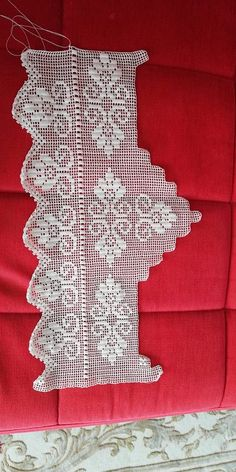 Dantel Tunisian Crochet, Filet Crochet, Crochet Doilies, Crochet Flowers, Easy Crochet, Crochet Lace, Baby Knitting Patterns, Crochet Patterns, Flower Granny Square
