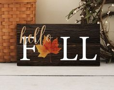 Fall Decor Signs, Fall Wood Signs, Fall Signs, Fall Home Decor, Autumn Home, Wooden Signs, Fall Boards, Fall Projects, Wood Projects