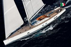 100ft Wally Sailing yacht INDIO - Les Voiles de Saint Tropez: Record number of Wally sailing yachts to attend.