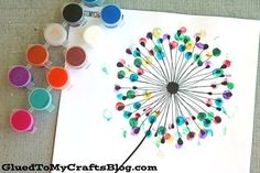 Blow and make a wish! Today's Thumbprint Dandelion kid craft idea w/free printable template is super easy to make within minutes and it's relatively inexpensive too. If you have a printer in your home – you are well on your way to pulling this craft idea together! In this post, I've included a FREE gender-neutral printable template, so … #kidscrafts