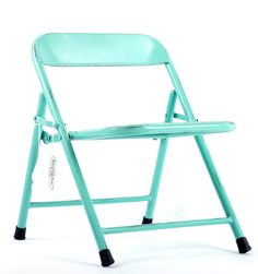 Kinderstoel metaal groen