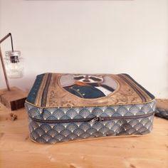 patron valise nouméa (2) Decorative Boxes, Sleepover Party, Retro Look, Boss, Decorative Storage Boxes