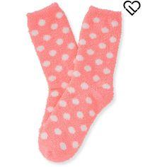 aeropostale womens polka dot rudolph fuzzy crew socks