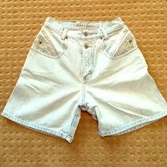 Vintage High Waisted Zena Jean Shorts Absolutely adorable high waisted shorts from the 80s! No rips, tears or flaws. Light jean. Might be a little long, but would be so cute as cut offs!! Zena Shorts Jean Shorts