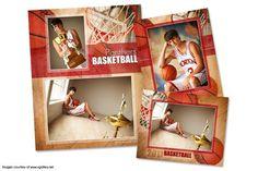Basketball Memory Mate Template-PA. Flyer Templates. $25.00