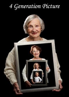 Easy Homestead: 4 Generation Picture. Awesome I want to do this with my family