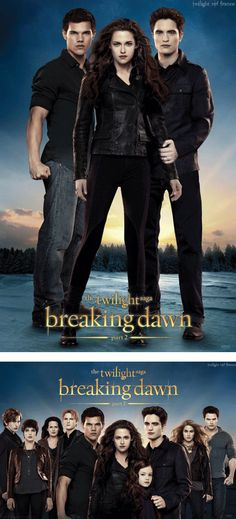 Robert Holds Kristen In NEW Breaking Dawn Part 2 Poster!