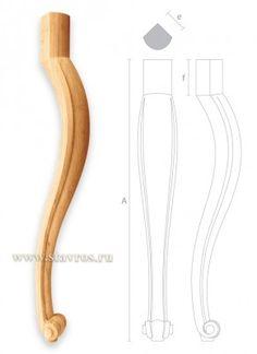 гнутая деревянная ножка для стола MN-038 каталог