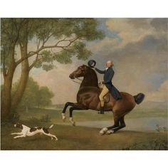 George StubBs...horse and hound