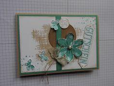 Kreativ am Deich Star Cards, Flower Cards, Cardmaking, Stampin Up, Creative, Bloom, Frame, Flowers, Crafts