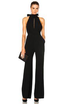 Image 2 of Roksanda Ruscha Heavy Day Tailoring Jumpsuit in Black