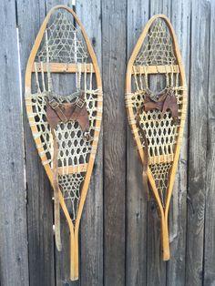 Classic Vintage Canadian Snowshoes