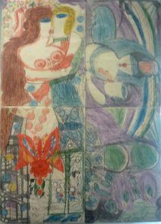 Aloïse Corbaz - Art brut  , Outsider art  LAM Villeneuve d'Ascq