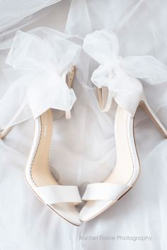 Hottest Wedding Shoes Trends 2018 For Brides ❤️ classic white ankle strap wi. - - Hottest Wedding Shoes Trends 2018 For Brides ❤️ classic white ankle strap with bows wedding shoes trends 2018 bella belle elise ❤️ See more: www. 2018 Wedding Trends, Wedding Dress Trends, Tulle Bows, Bridal Heels, Beautiful Sandals, Bride Shoes, Wedding Shoes Bride, White Wedding Shoes, Designer Wedding Shoes
