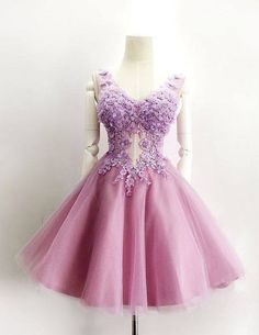 #short homecoming dresses #fuchsia prom party dresses #2016 prom party dresses…