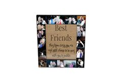 Best Friend Picture Frame Collage Photo von InitialRemembrance