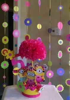 Large Garland  Girl Minion Garland  Minion by BasketsFromAtoZ