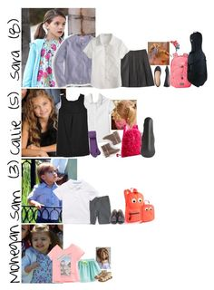"""School and Music 3/3"" by graywolf145 ❤ liked on Polyvore featuring J.Crew, Lands' End, The North Face and Zara"