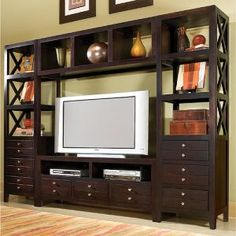 Lifestyle California 4-Piece Entertainment Center