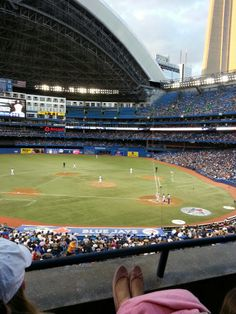 Rogers Centre. Toronto, ON, Canada. Home of the Blue Jays. Trip next summer.