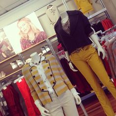 These mustard yellow pieces from Ann Taylor Loft are must-have fall items!