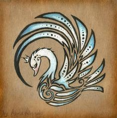 Royal swan - tattoo design by AlviaAlcedo on DeviantArt Schwan Tattoo, Kunst Tattoos, Motifs Animal, Unicorn Art, Carving Designs, Quilling Patterns, Future Tattoos, Skin Art, Unique Tattoos