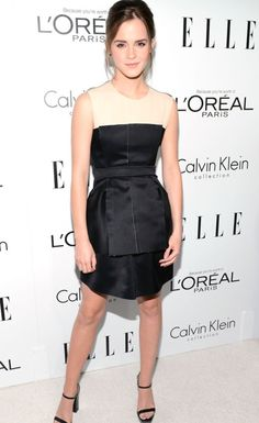 love Emma Watson's dress. So cute.  -Egi