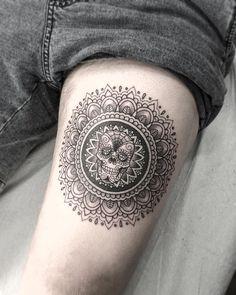 mandala tattoo by mandala tattoo Kristi Walls