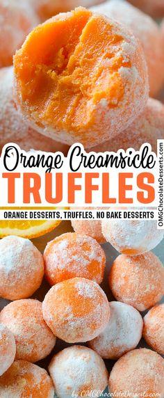 Orange Creamsicle, Penne Pasta, No Bake Desserts, Dessert Recipes, Candy Recipes, Baking Desserts, Desserts To Make, Sweet Recipes, Tiramisu Caramel