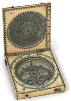 Scrimshaw Sun Dial France, 19th century Christie's