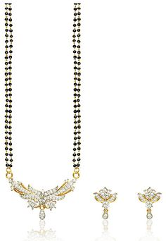 #White American #Diamond Studded #Mangalsutra @ $52.01