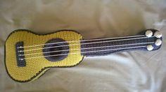 crochet ukelele by Bigunki