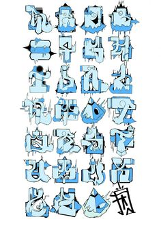 La gente de Don't Panic ha tenido una iniciativa muy interesante. Aliados con Thames & Hudson (los editores del libro de MadC Street Fonts) propusieron una competición que constaba en diseñar stu propio alfabeto Graffiti.  Pues bien, el concurso ha llegado a su fin y ya tienen ganador. Derek Beers, que vió publicada su obra en la fiesta de presentación del libro de MadC y se llevó su correspodiente ejemplar del libro por la patilla y un vale de 300 pounds para fundirse en libros de di...