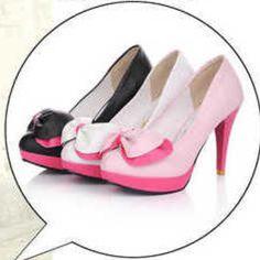 Tacones lazo candy / lollipop heels bowknot wh833
