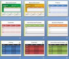 11 best ppt images on pinterest   strategy map, business management, Balanced Scorecard Ppt Template, Powerpoint templates