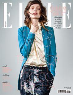 Coco Rocha - Elle magazine cover [Mexico]( June 2013)