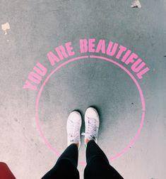 My Coffee, Coffee Shop, Self Appreciation, Sidewalk Chalk Art, Grafiti, Neue Outfits, Branding, Mural Art, You Are Beautiful