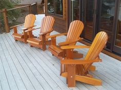 More savings by ordering 4 Royal Adirondack chairs. What a better way to enjoy the cool spring and summer nights than sitting around with friends in total comfort.