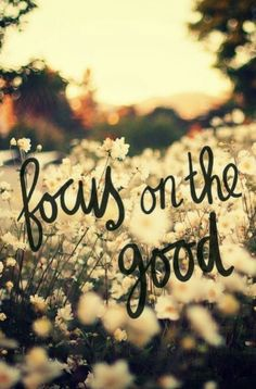 Gratitude is all about focus...