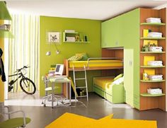 Multifunctional beds for small kids39; bedroom  Interior design