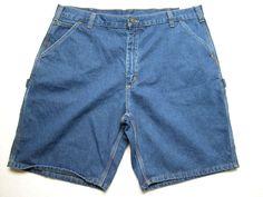 NWT Wrangler Carpenter Dark Denim Blue Jean Shorts Tech Pocket SZ 30 40 /& 44