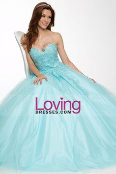 2015 Sweetheart A-Line Prom  Gown Tulle With Beads And Applique Floor-Length