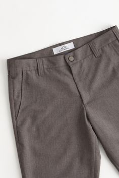 Bluff Works Classic Gray Wrinkle Free Pants