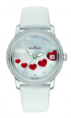 """Orologio Blancpain con cuori per dire """"ti amo"""" a San Valentino!"""