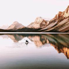 Just keep rowing. (Photo via IG: mattcherub)