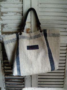 Image of Sac Basic Bag Sacs Tote Bags, Tote Purse, Reusable Tote Bags, Unique Handbags, Linen Bag, Denim Bag, Quilted Bag, Summer Bags, Market Bag