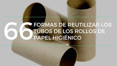 Aquí compartimos 66 formas originales de reciclar los tubos de cartón de los rollos de papel higiénico. Proyectos en su gran mayoría muy sencillos. Craft Stick Crafts, Diy And Crafts, Carton Diy, Recycled Art Projects, Clay Wall Art, Diy Cardboard, Craft Organization, Diy Paper, Solar Panels