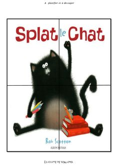 Puzzle à imprimer Splat le Chat Splat Le Chat, Puzzles, Virginia, Album, Books, Multiplication, Montessori, Ps, Images