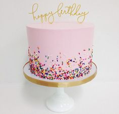 Sprinkle Me Pink - Stunning Cakes That Definitely Did Not Come From A Box - Photos cake decorating recipes kuchen kindergeburtstag cakes ideas Pretty Cakes, Cute Cakes, Beautiful Cakes, Amazing Cakes, Girly Cakes, Bolo Cake, Celebration Cakes, Eat Cake, Cupcake Cakes